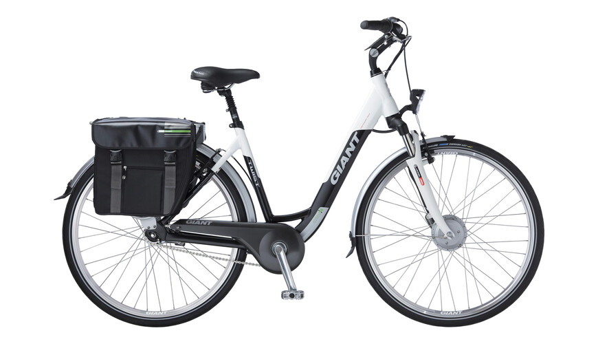 Giant Twist Esprit Single Elcykel vit/svart - till fenomenalt pris på Bikester